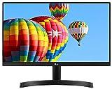 LG 54.6 cm (21.5') Full HD (1920 x 1080) Slim IPS Panel Monitor, HDMI x 2 & VGA Port, 56-75 Hz Refresh Rate & AMD Freesync - 22MK600M (Black)