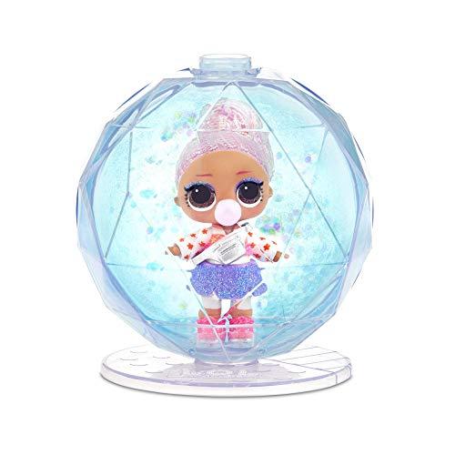 Image 4 - MGA- Poupée L.O.L. Surprise Glitter Globe de la série Winter Disco avec Cheveux Scintillants Toy, 561613, Multicolore