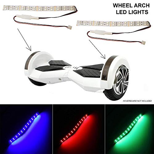 Cover di Ricambio con luci - per Hoverboard con Ruote da 16,5 cm - plastica - LED di Ricambio