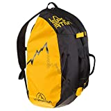 La Sportiva Medium Rope Bag Bolsa, Adultos Unisex, Black/Yellow (Multicolor), Talla Única