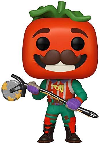 Funko Pop! Vinilo: Games: Fortnite: TomatoHead, Multicolor, Talla Única