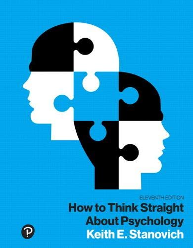 How to Think Straight About Psychology, Books a la Carte (11th Edition) (What's New in Psychology)
