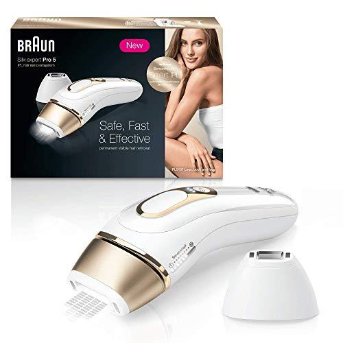 Braun Silk Expert Pro 5 PL5137 Depiladora Luz Pulsada IPL, Última Generación,...