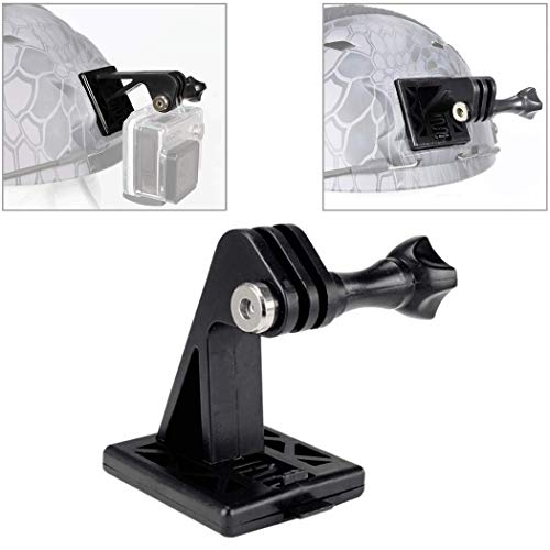 Accessori per casco tattico Supporto per escavatore telecamera per casco GoPro o supporto base casco NVG (nero)