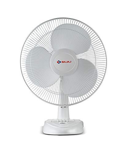 Bajaj Esteem 400 mm Table Fan (White)