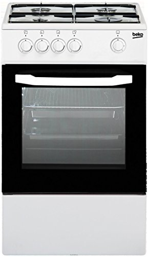 Beko CSG42000DW Libera installazione Piano cottura a gas Bianco cucina e Piano cottura - Fumetti e fornello/zona cottura (Piano cottura a gas, Bianco, Manopola, Frontale, Piano cottura a gas, Piccolo)