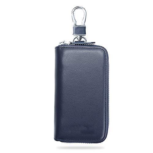 Caso chiave Borsa for chiavi in pelle di grande capacit Borsa con cerniera for uomo Borsa for chiavi...