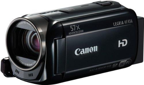 Canon LEGRIA HF R56 Videocamera Digitale FULL HD, Condivisione Tramite Wi-Fi, Nero