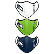 Officially licensed Soft and breathable to keep you comfortable Three-pack of adjustable team face covers Material - Outer - 93% Polyester/7% Elastane, Lining - 95% Polyester/5% Elastane Adjustable straps for easy, comfortable wearing