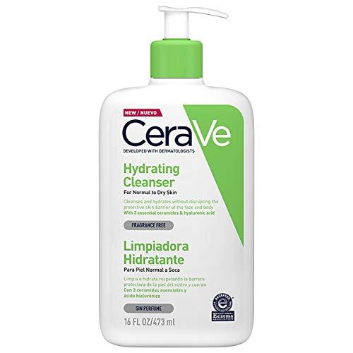 CeraVe Loción Hidratante Limpiadora 473 ml, 1 unidad
