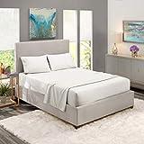 Nestl Bedding Soft Sheets Set – 4 Piece Bed Sheet Set, 3-Line Design...
