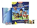 Nickelodeon Paw Patrol My Busy Book -10 Figurines and a Playmat