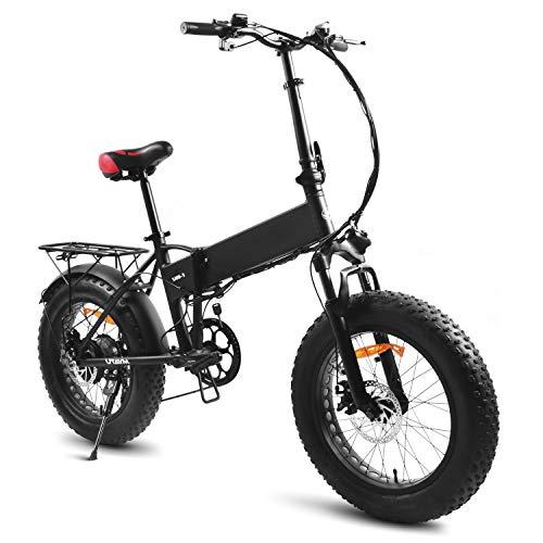 Souleader 20Pollici Bici Elettrica Pieghevole,Bicicletta elettrica assistita 48V/8Ah Batteria al...