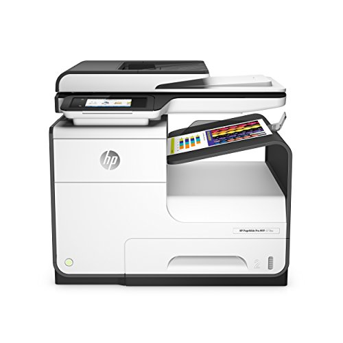 HP PageWide Pro 477dw Inyección de tinta térmica A4 Wifi Gris - Impresora multifunción (Inyección de tinta térmica, Color, Color, Color, Color, Imprimir)