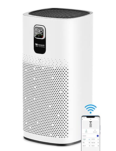 Proscenic A9 Air Purifier for Home Large Room with H13 HEPA Filter