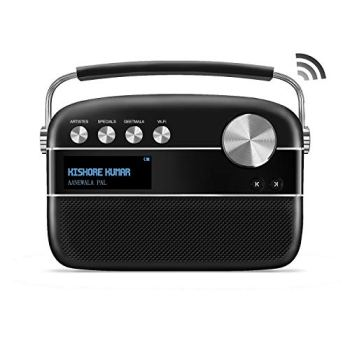 Saregama Carvaan 2.0 Portable Digital Music Player (with 20,000 Songs) (with WiFi, Black)