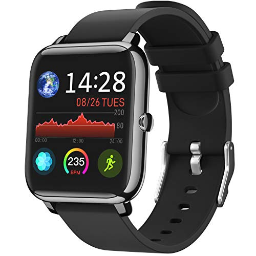 IDEALROYAL Smartwatch, P22 Reloj Inteligente Impermeable con...