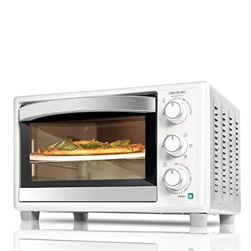 Cecotec Horno sobremesa con piedra para pizza Bake&Toast 610 4Pizza....