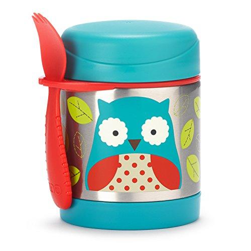 Skip Hop Zoo Stainless Food Jar - Owl - 11 oz