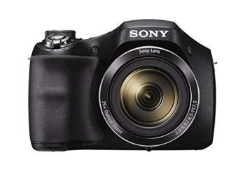Sony Cyber-shot DSC-H300 20.1 MP Digital Camera - Black - Renewed
