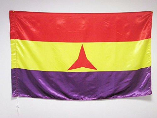 AZ FLAG Bandera ESPAÑA Republicana BRIGADAS INTERNACIONALES