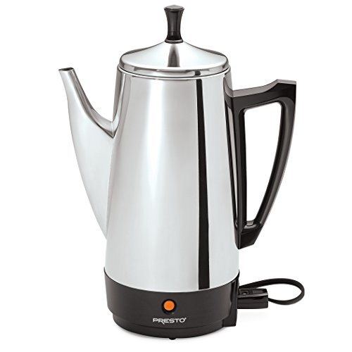 Presto 02811 12-Cup Stainless Steel Coffee Maker