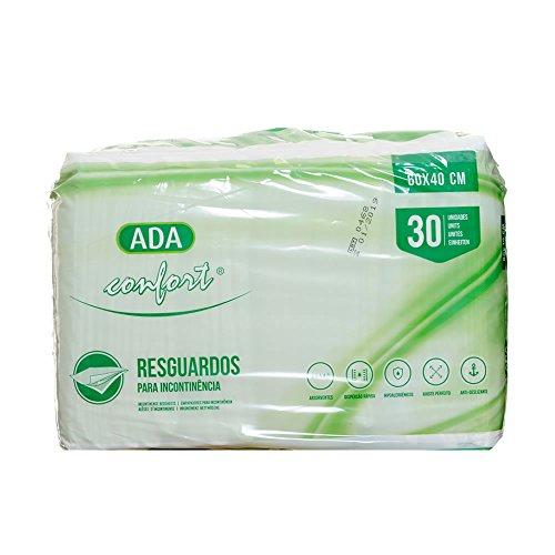 ADA - Caja 30 unidades de Empapadores desechable con gran capacidad de absorción 60 x 40 cm