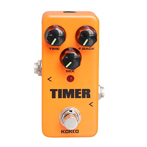 Artibetter 1 Pc Guitar Mini Effects Pedal Timer - Digital Delay Effect Sound Processor Portable Accessory for Guitar and Bass- FDD2