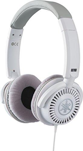 YAMAHA HPH-150WH Cuffie Sovraurali, Cuffie Monitor Aperte On Ear con Meccanismo Girevole 90°, Leggere e Confortevoli, Suono chiaro, Adatte per Strumenti Musicali Digitali, Bianco