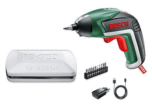 Visseuse sans fil Bosch -  IXO V Edition Classique (Livrée avec chargeur et 10 embouts de vissage, boîte en métal)