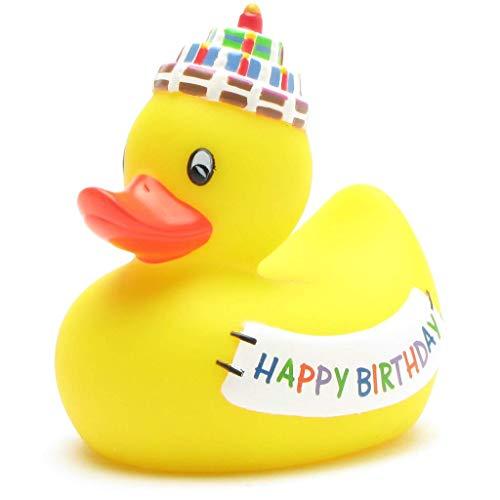 """Badequietscheentchen \""""Happy Birthday\"""""""