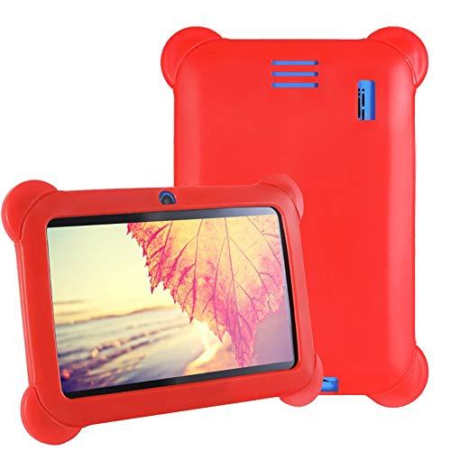 Cover per 7 Pollici Q88 Y88 Kids Tablet Case, Universale Custodia Protettiva in Silicone Morbido...