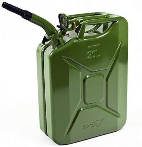 Oxid7 Benzinkanister Kraftstoffkanister Metall 20 L...