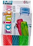 MSC International 29152 Joie Rainbow Reusable Ice Cube Sticks for Water Bottles, Set of 6, Assorted Colors
