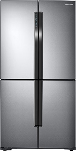 Samsung 693 L Frost Free Side-by-Side Refrigerator(RF60J9090SL/TL, Silver, Convertible, Inverter...