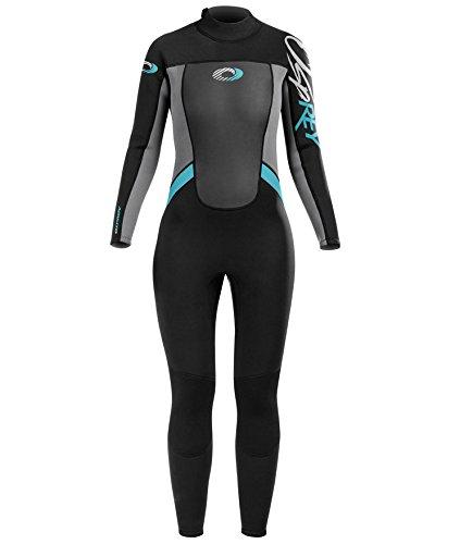 Osprey Origin Neoprenanzug Damen 5mm Lang Winter Wetsuit und Surfanzug, Blau, Extra Klein (XS)