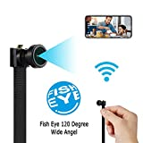 Spy Camera WiFi Wireless Hidden Camera | Mini HD 4K Cam Small Nanny Camera |120-Degree Wide-Angle Lens|Security Camera for Home and Outdoor (with Cell Phone APP)