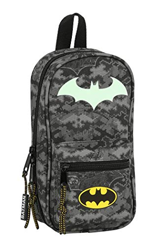 Beauty case con 4 astucci e utili di Batman, 120 x 50 x 230 mm