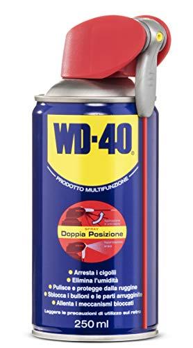 WD-40 Prodotto Multifunzione - Lubrificante Spray con Sistema Professionale Doppia Posizione - 250...