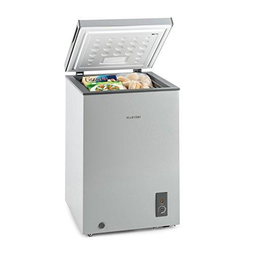 Klarstein Iceblokk 100 - congelatore 4 stelle,freezer a pozzetto, congelatore, 100 litri freezer,...