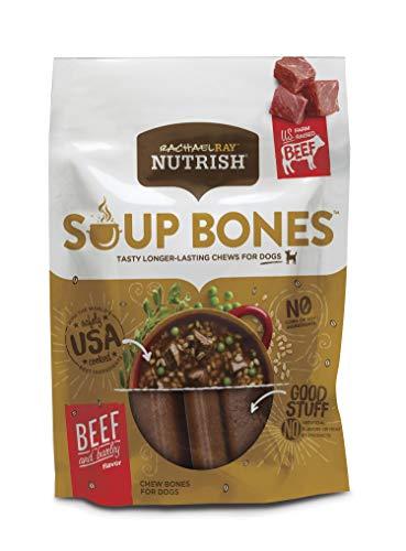 Rachael Ray Nutrish Soup Bones Dog Treats, Beef &...