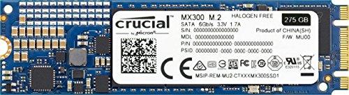 Crucial MX300 275GB 3D NAND SATA M.2 (2280) Internal SSD - CT275MX300SSD4