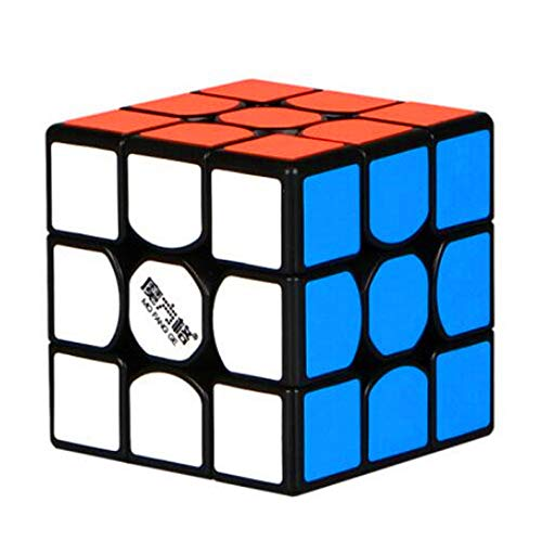 CuberSpeed QiYi Thunderclap 3x3 Black Speed Cube MoFangGe Leiting 3x3x3 Speed...