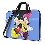 Dibujos Animados Micke-y Mouse Minnie Laptop Bag Tablet Maletín Funda Protectora portátil 14 Pulgadas LAP-069