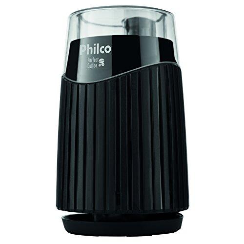 Coffee grinder, Perfect coffee, 160W, Black, 220v, Philco