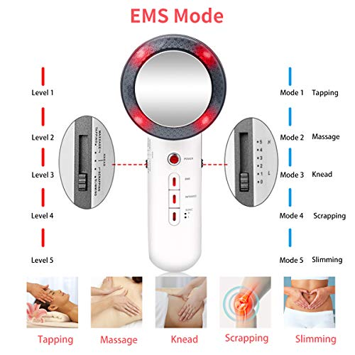 Body Sliming Machine EMS Fat Remove Machine Infared Weight Loss Skin Care Device for Women Men Use on Belly Stomach Arm Facial Abdominal Legs at Home 5