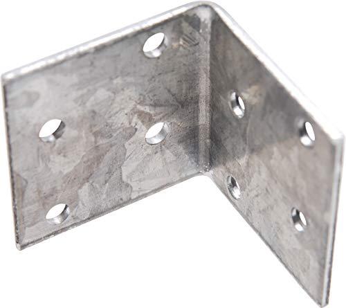 Connettore ad angolo cogenerazione shirtzshop, zincati, 40 x 40 x 2 mm, 80934