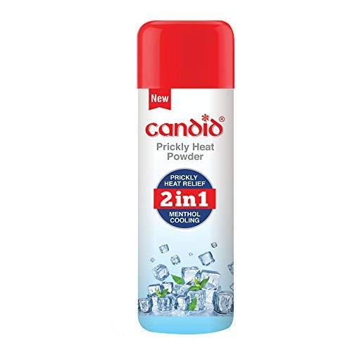 Candid Prickly Heat Powder 120g, white