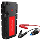MEGAWISE 2500A Peak 21800mAh Car Battery Jump Starter (up to 8.0L Gas/6.5L Diesel Engines) 12V Portable Power Pack Auto Battery Booster with Dual USB Outputs