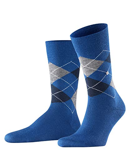 Falke Edinburgh M SO Calzini, Blu (Royal Blue 6051), 40-46 Uomo